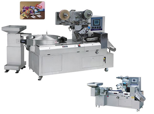 Candy Packing Machine, Pillow Type